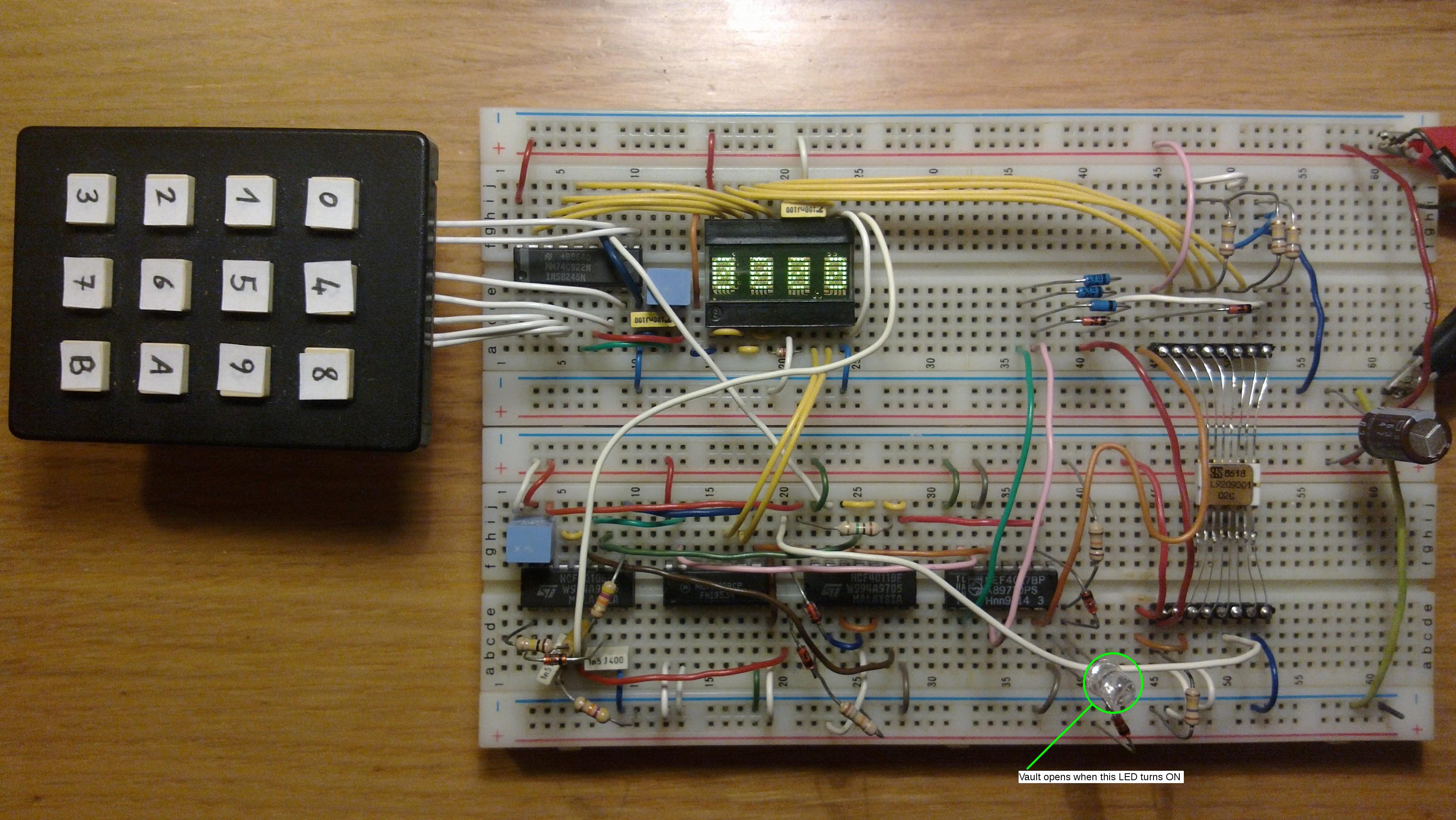 Polictf 2015 Lightning Integrated Circuitjpg The Files For Challenge Are Two Images A Photo Of Breadboard Full Components And Showing Placement Circuits On